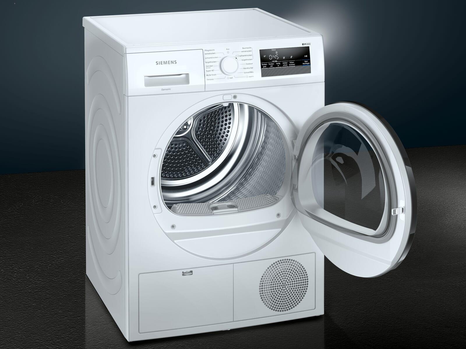 Siemens WT45HVA1 Trockner Weiß
