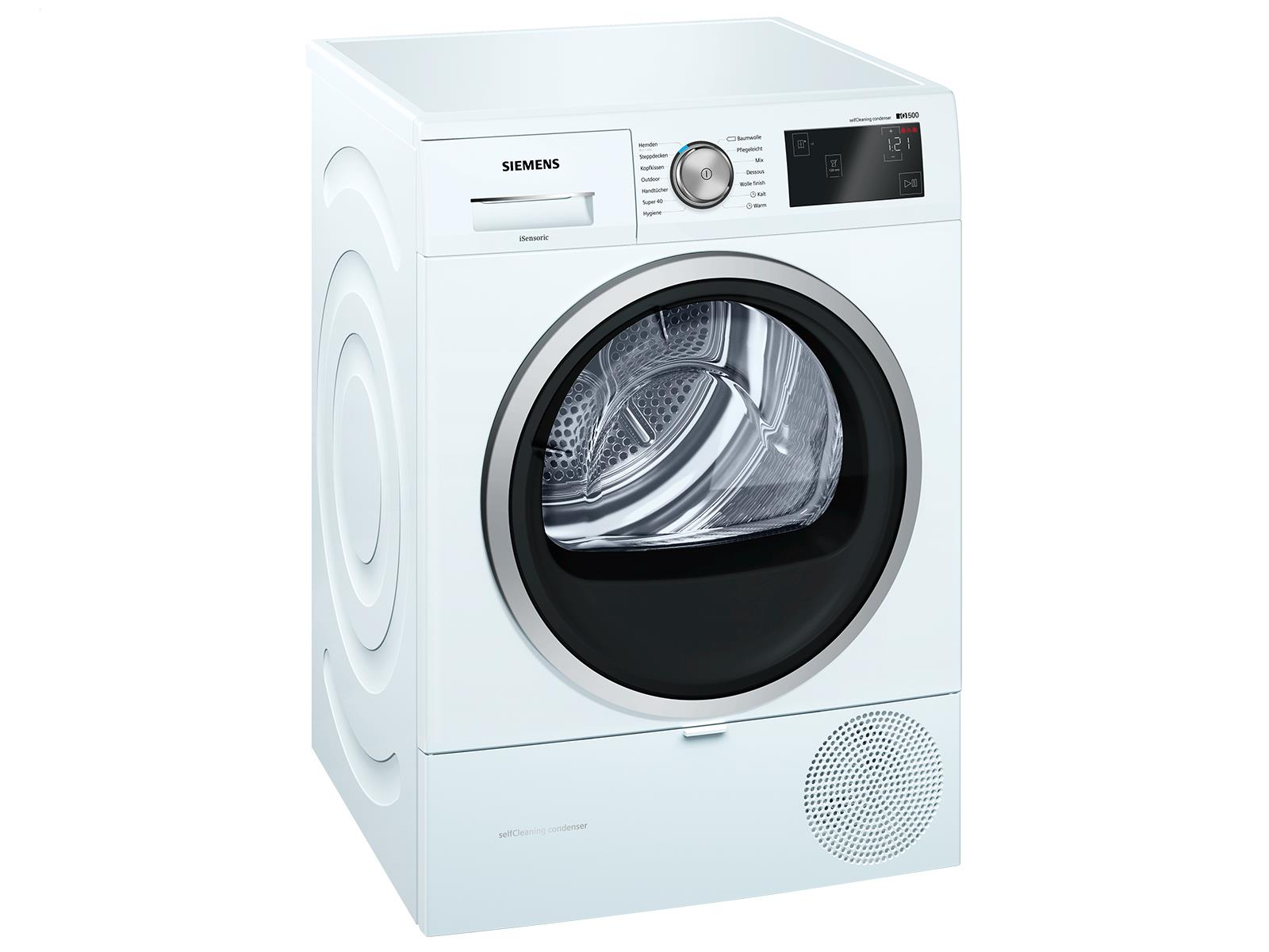 Siemens wt47w6a1 trockner weiß