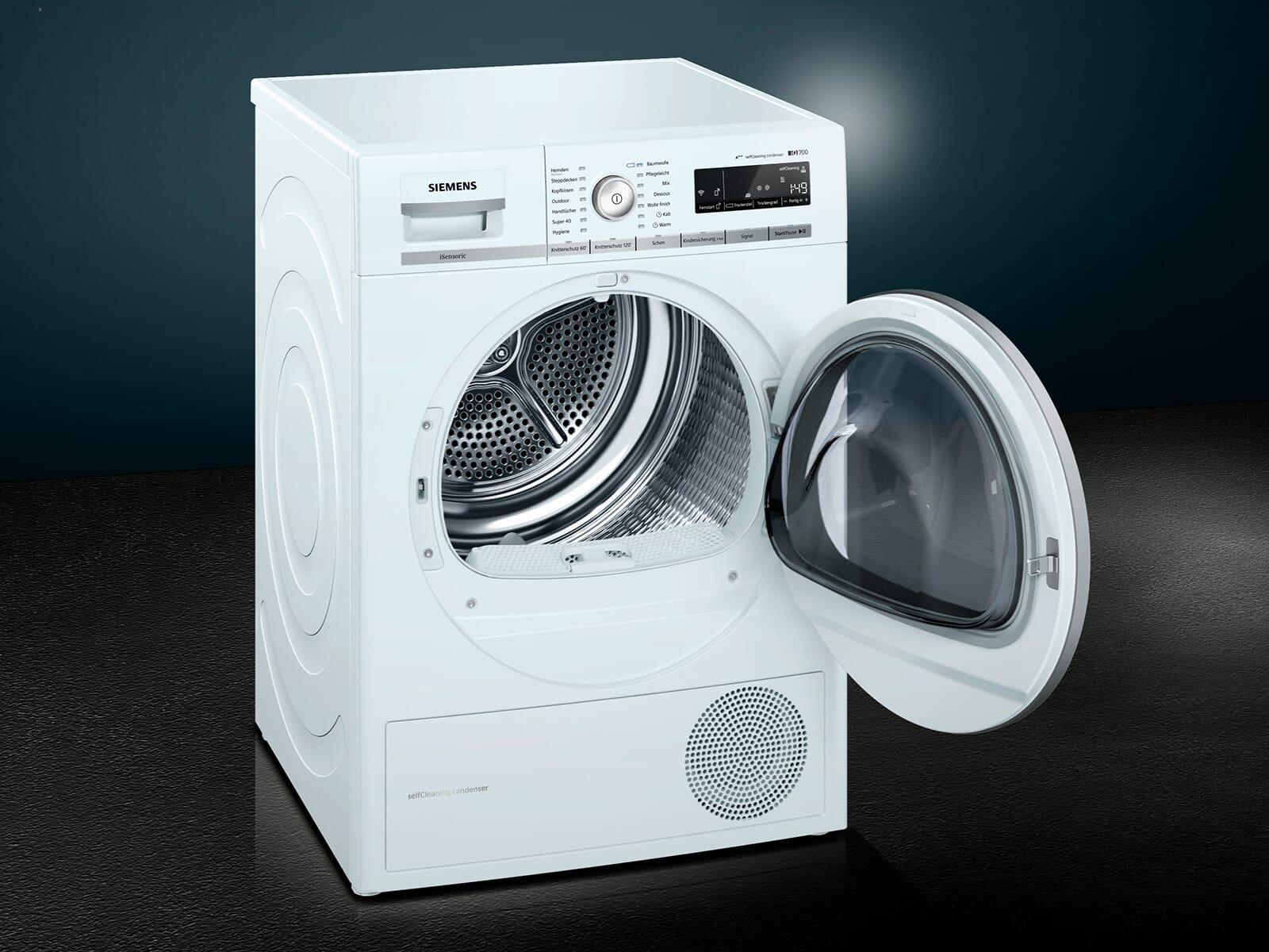 Siemens WT7WH540 Trockner Weiß