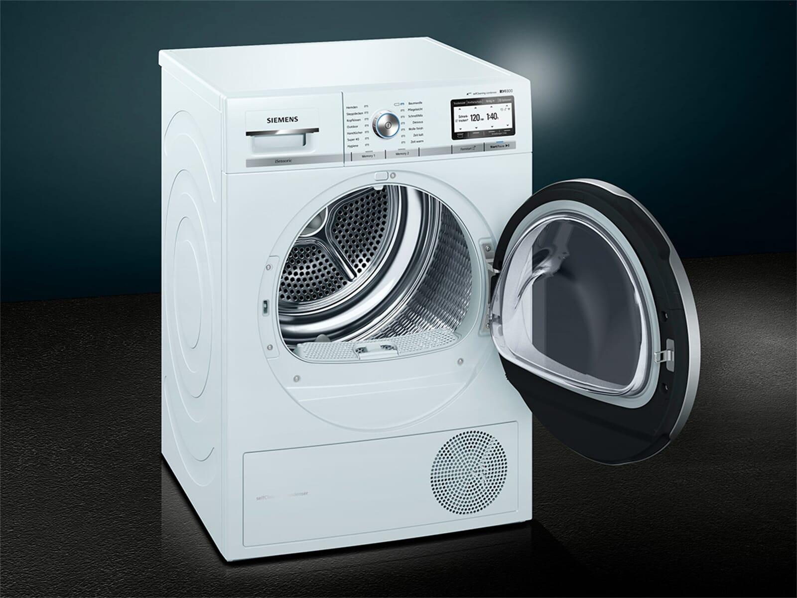 Siemens wt7yh701 trockner weiß