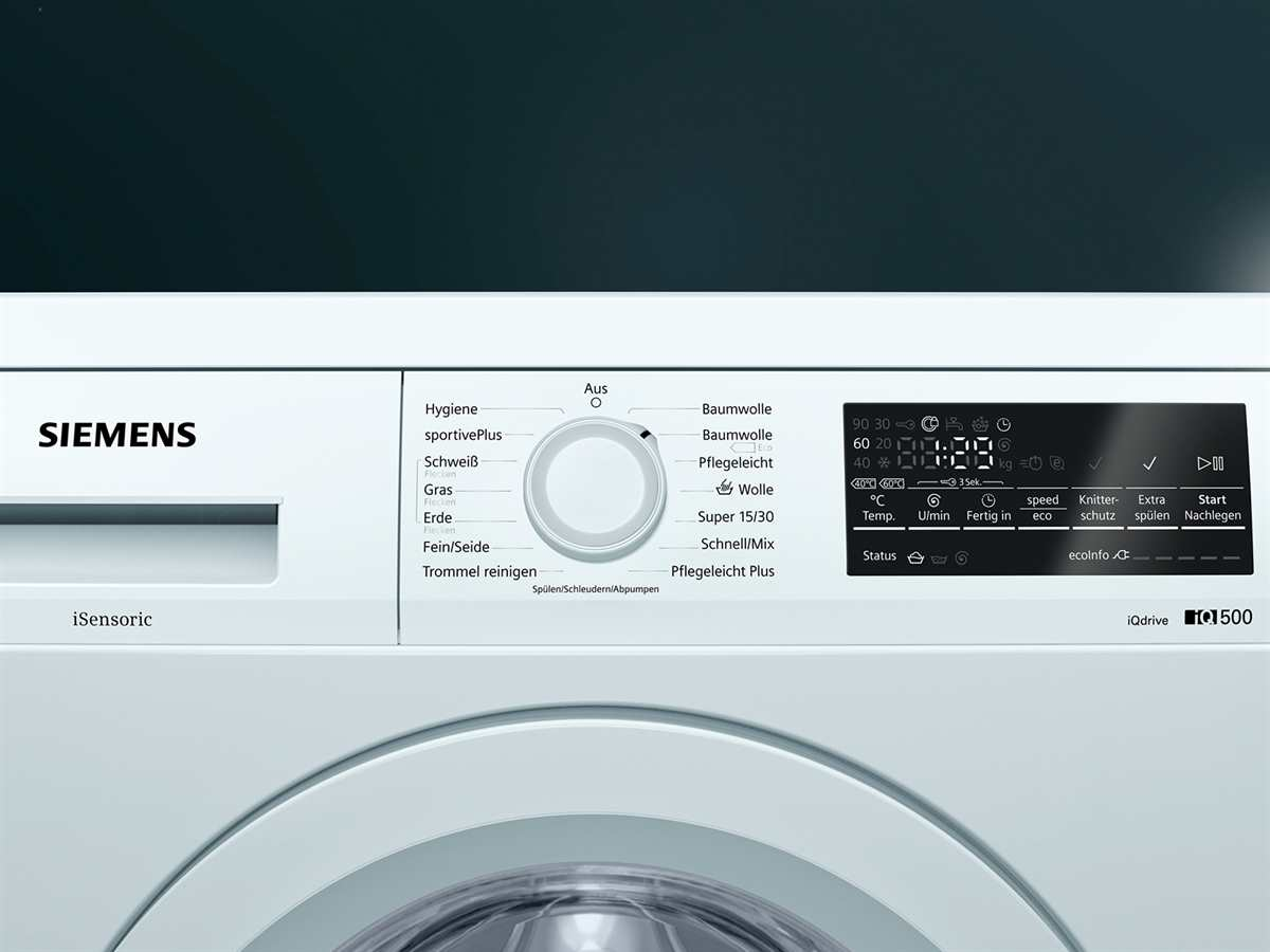 Siemens WU14Q420 Waschmaschine Weiß