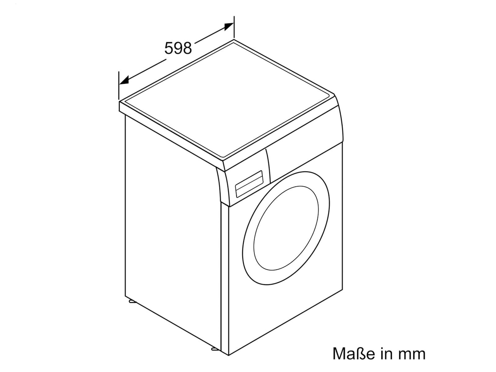 Siemens WU14Q440 Waschmaschine Weiß