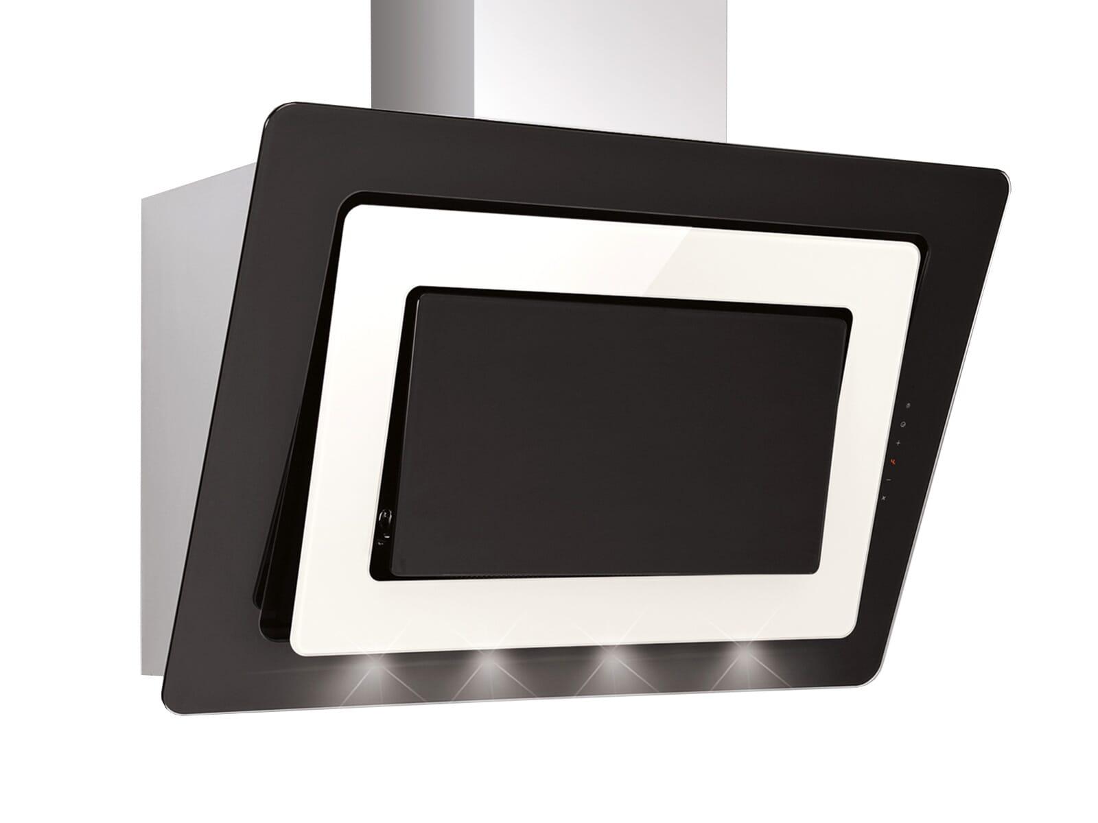 Silverline Alya Premium AYW 994.1 M Kopffreihaube Edelstahl/Schwarzglas/Magnolieglas