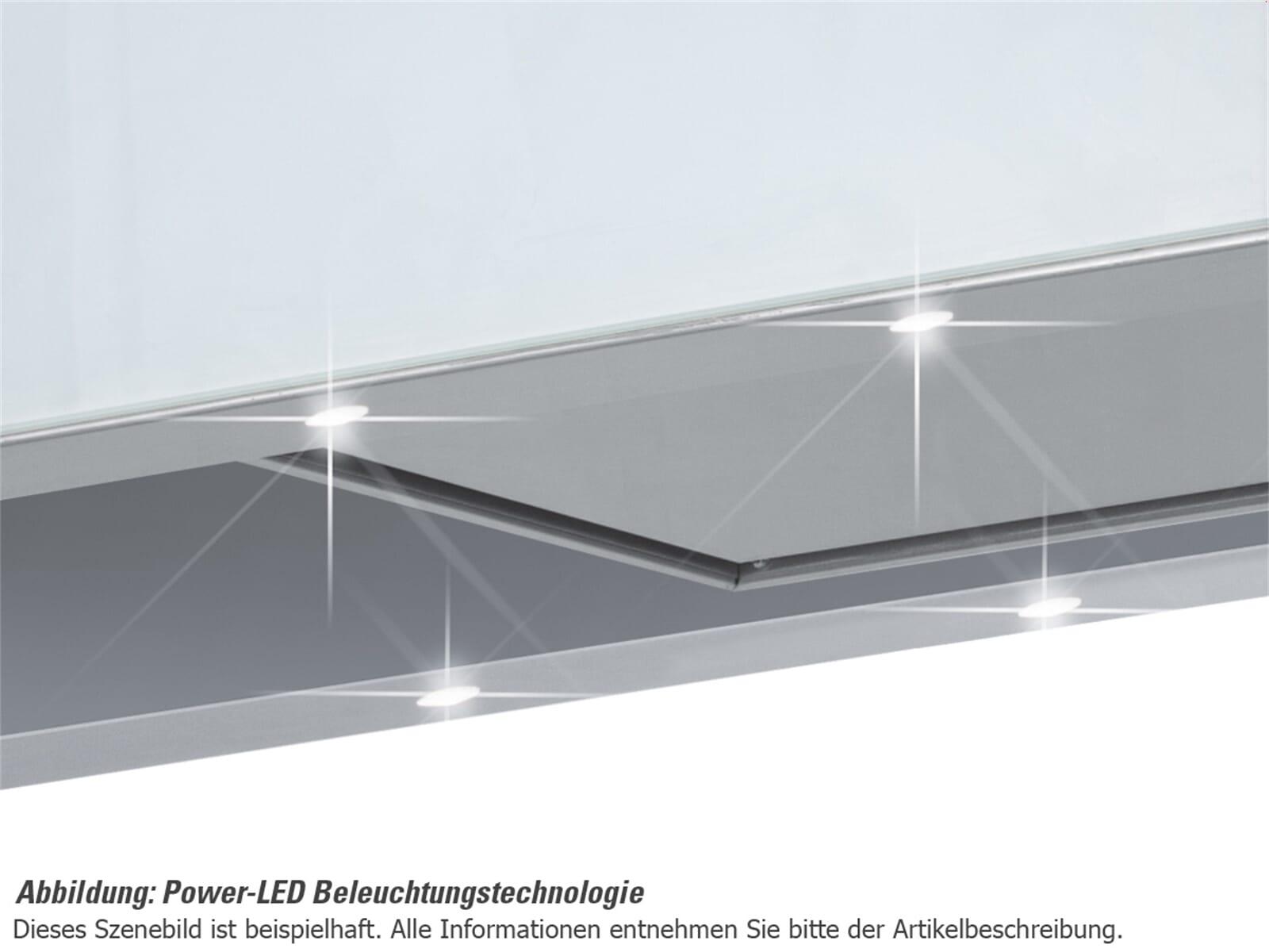 Silverline Illumina Deluxe ILW 985.3 E Wandhaube Edelstahl