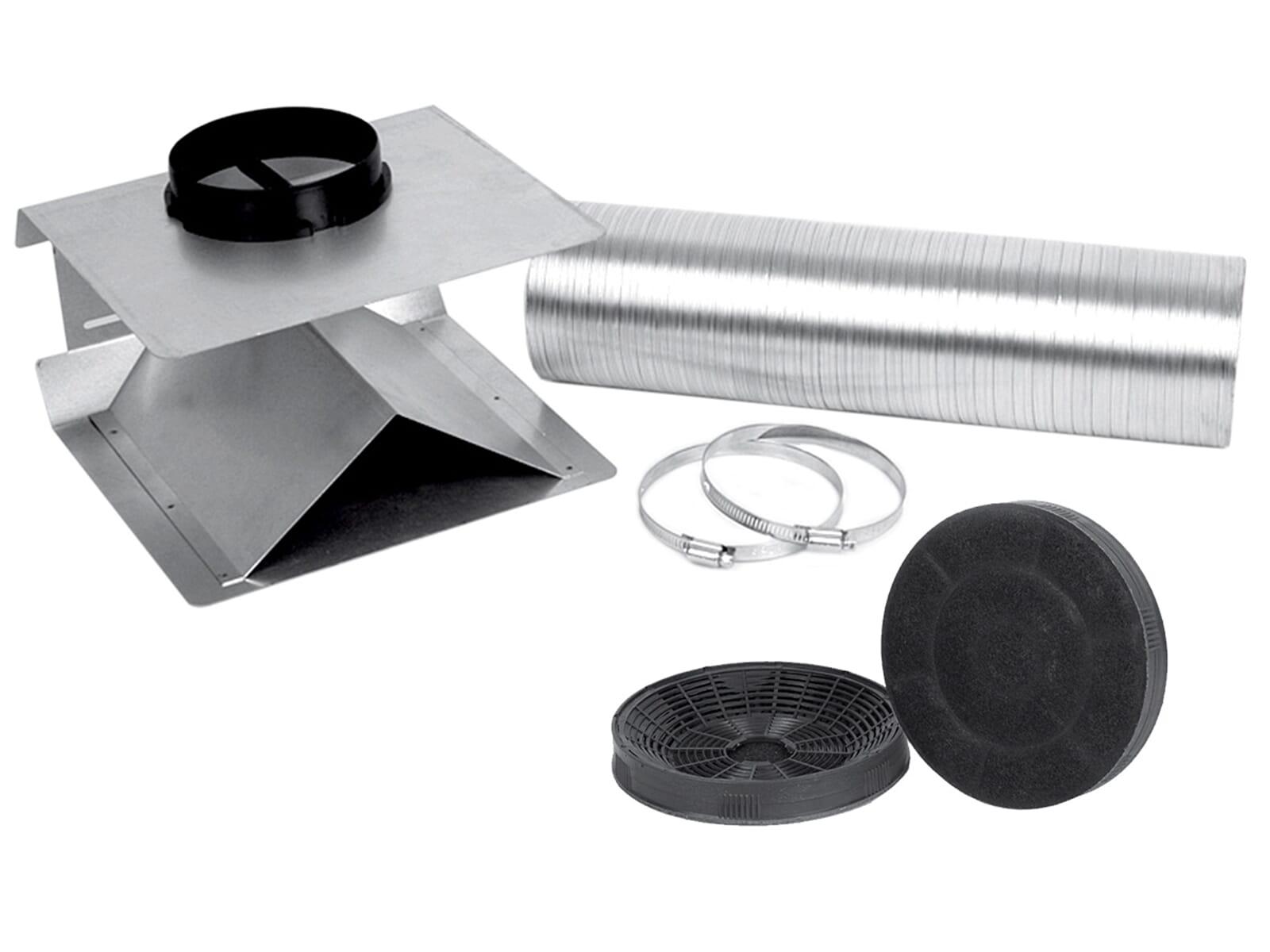 Silverline USET 40 + AF 100 Umluft-Set + 2 Aktivkohlefilter