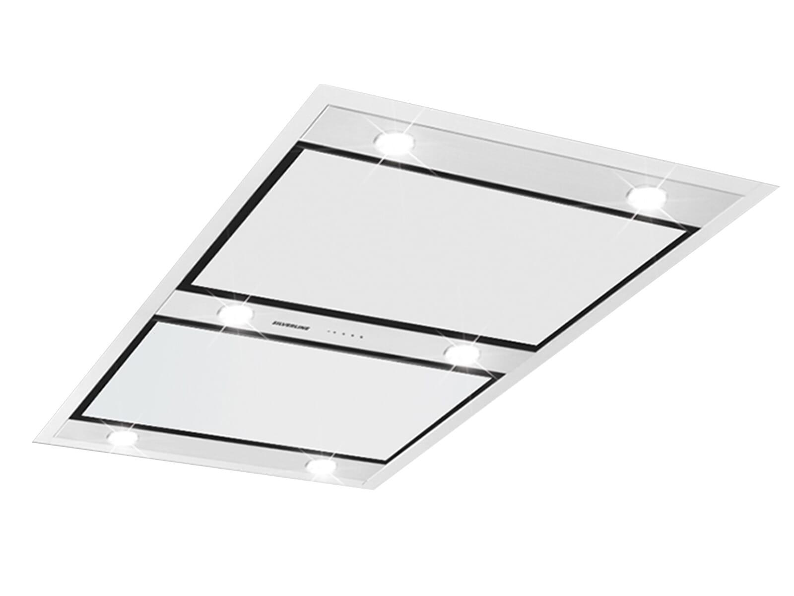 Silverline Vega VGD 124.1 E Deckenhaube Edelstahl