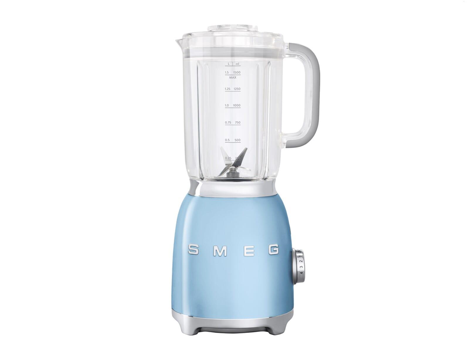 Smeg Kühlschrank Pastellblau : Smeg blf01pbeu standmixer pastellblau