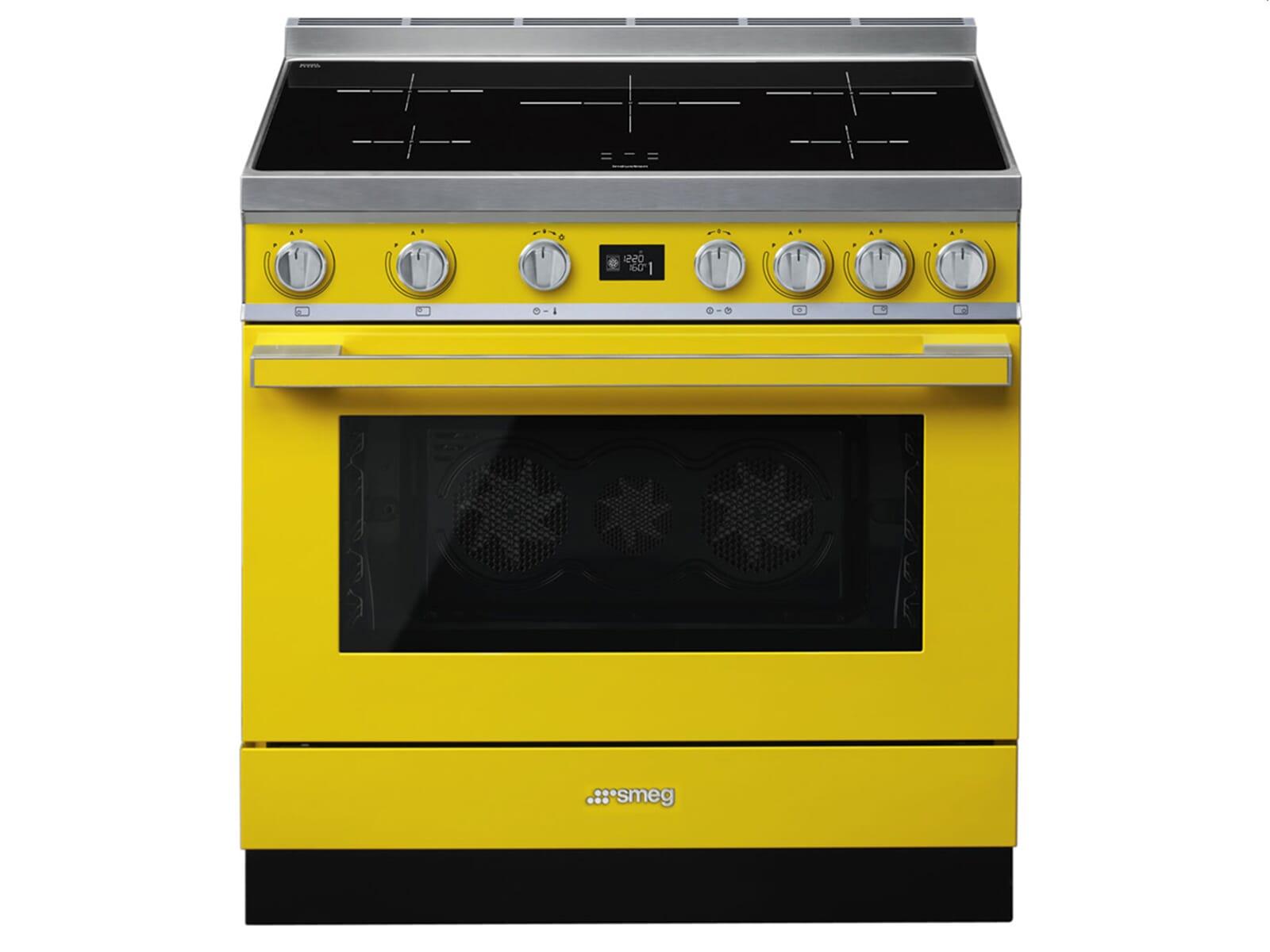 Smeg Kühlschrank Gelb : Smeg cpf ipyw induktion standherd gelb