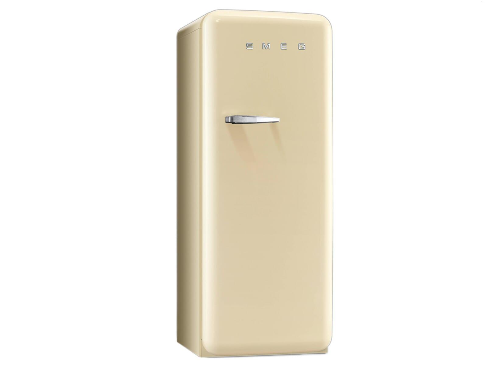 Amerikanischer Kühlschrank Creme : Smeg cvb rp standgefrierschrank creme