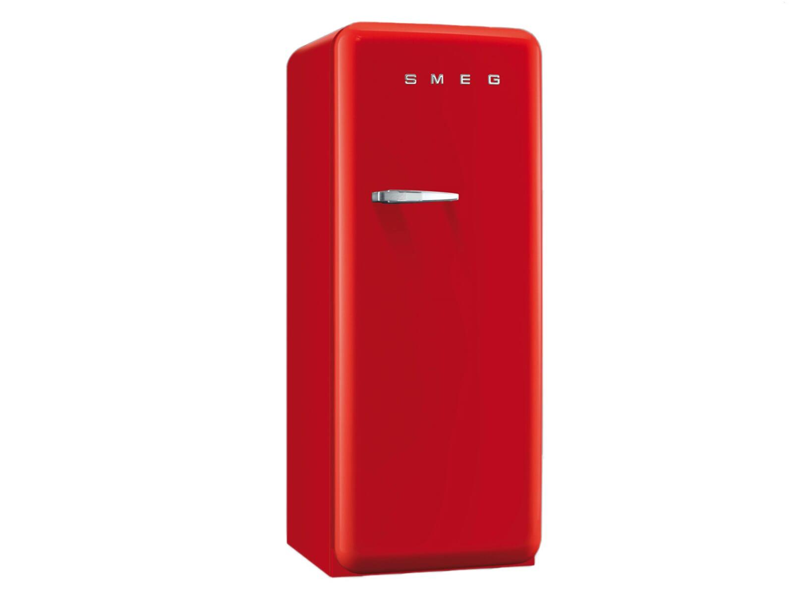 Amerikanischer Kühlschrank Smeg : Smeg cvb rr standgefrierschrank rot