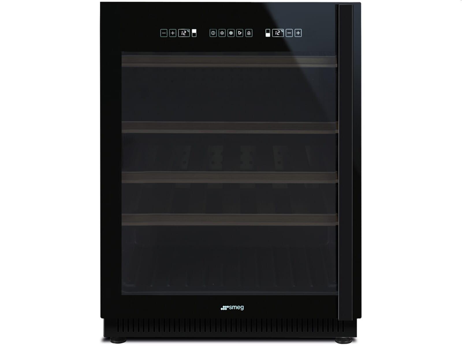 Smeg Kühlschrank Reduziert : Smeg cvi ns unterbau weinkühlschrank weinklimaschrank schwarz
