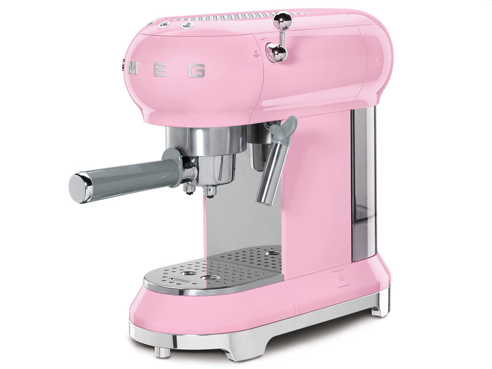 Smeg ECF01PKEU Espresso-Kaffeemaschine Cadillac Pink