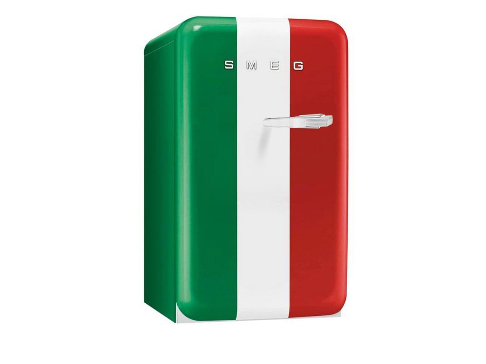 Smeg FAB10HLIT Stand Flaschenkühlschrank Italia