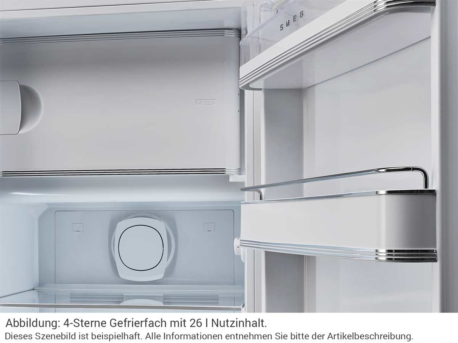 Smeg FAB28LCR3 Standkühlschrank Creme