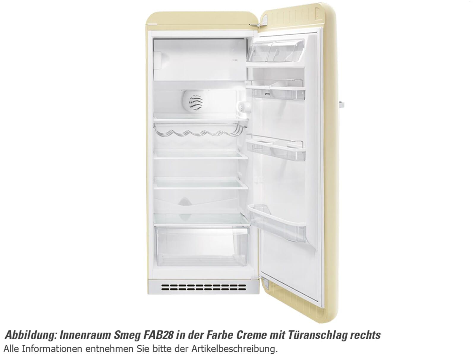 Smeg FAB28RV1 Standkühlschrank Pastellgrün