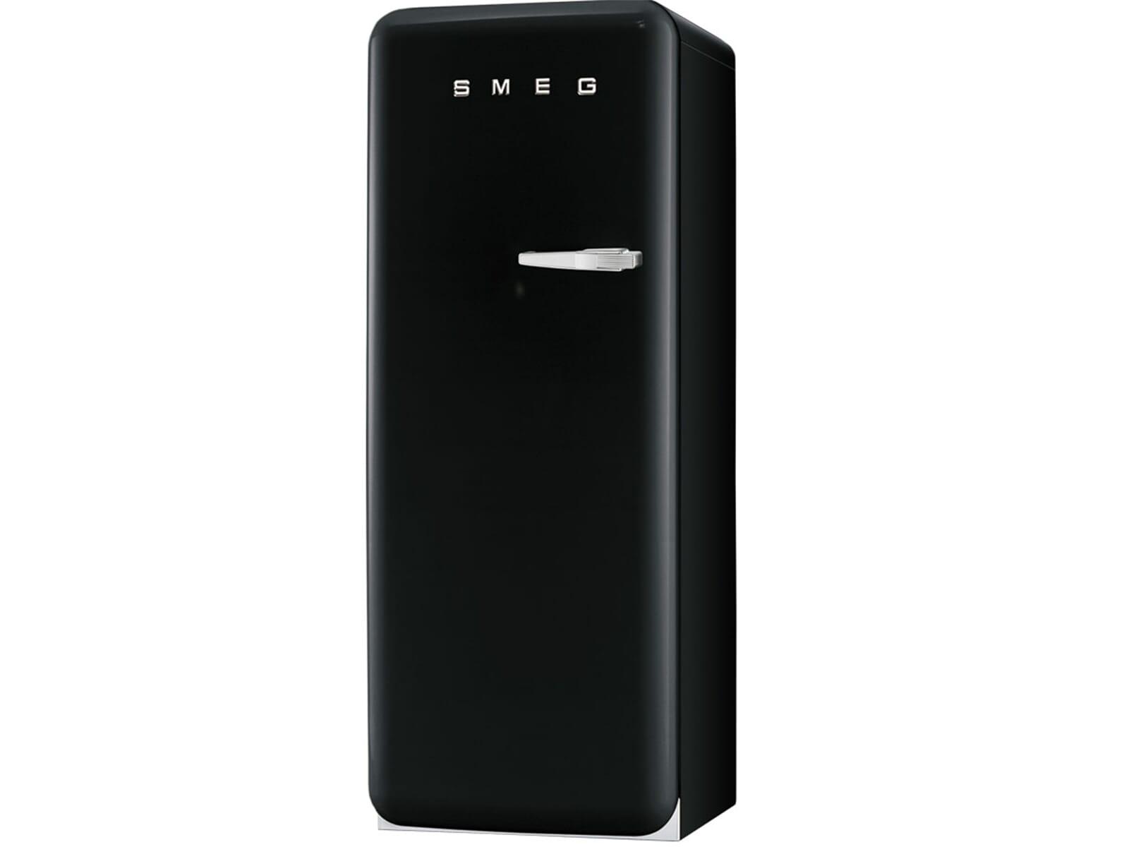 Smeg Kühlschrank 50 Cm Breit : Smeg fab lne standkühlschrank schwarz