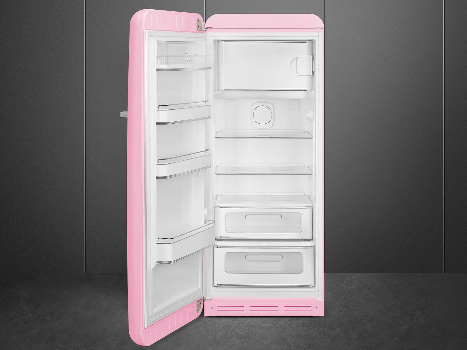 Smeg FAB28LPK3 Standkühlschrank Cadillac Pink