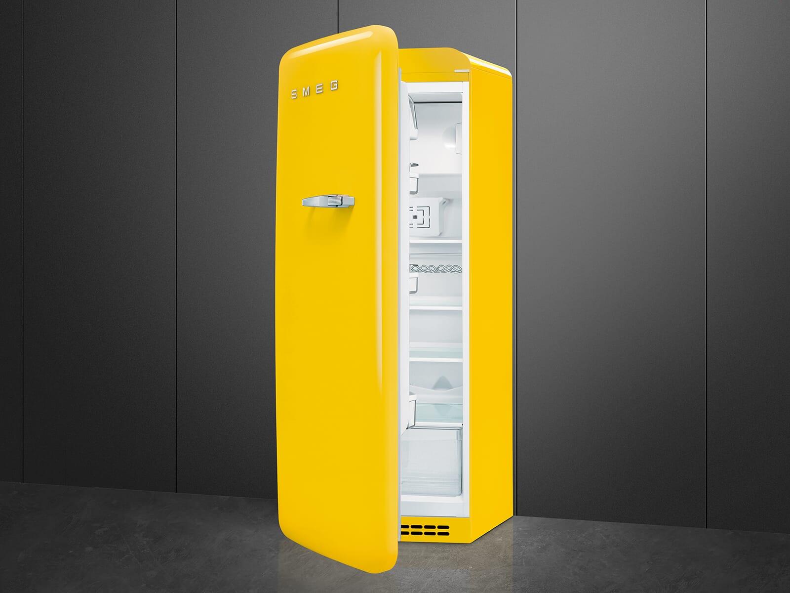 Smeg FAB28LYW3 Standkühlschrank Gelb