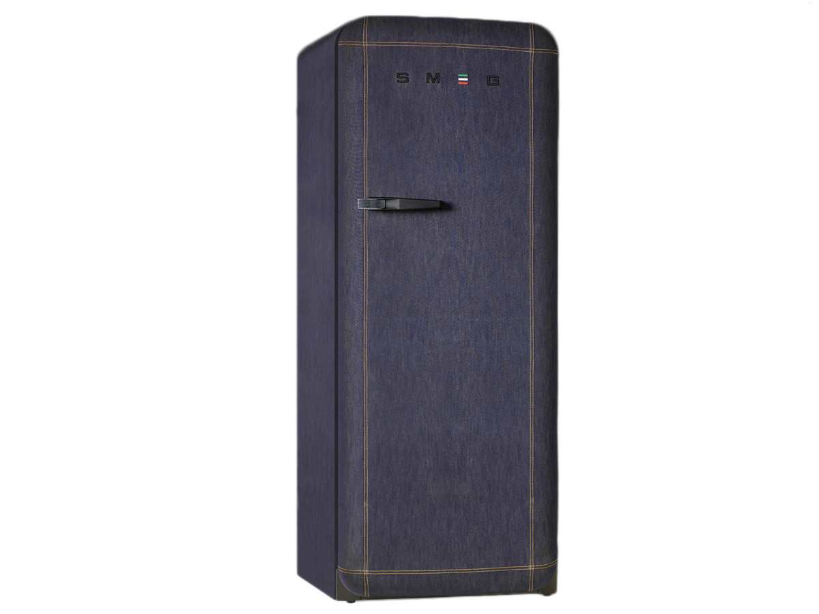 Smeg Kühlschrank Tiefe : Smeg fab28rdb standkühlschrank jeans denim blue