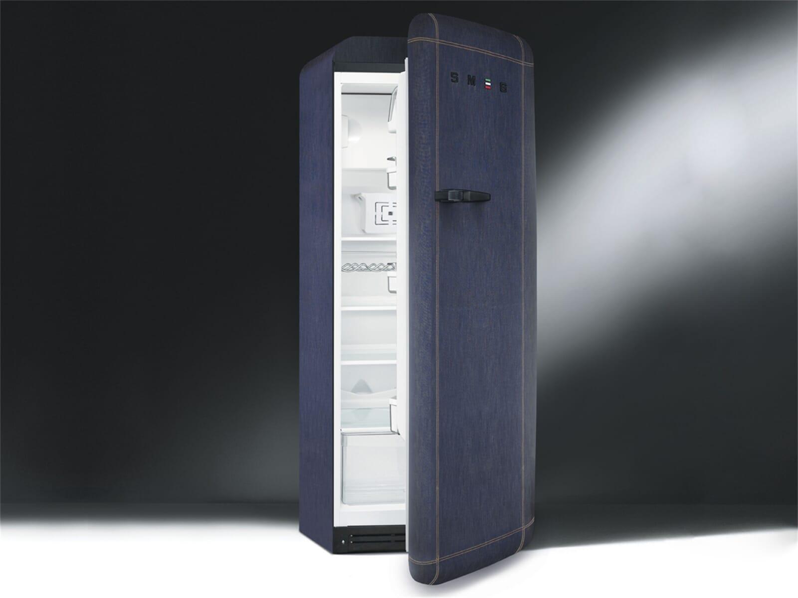 Smeg Kühlschrank Db : Smeg fab28rdb standkühlschrank jeans denim blue