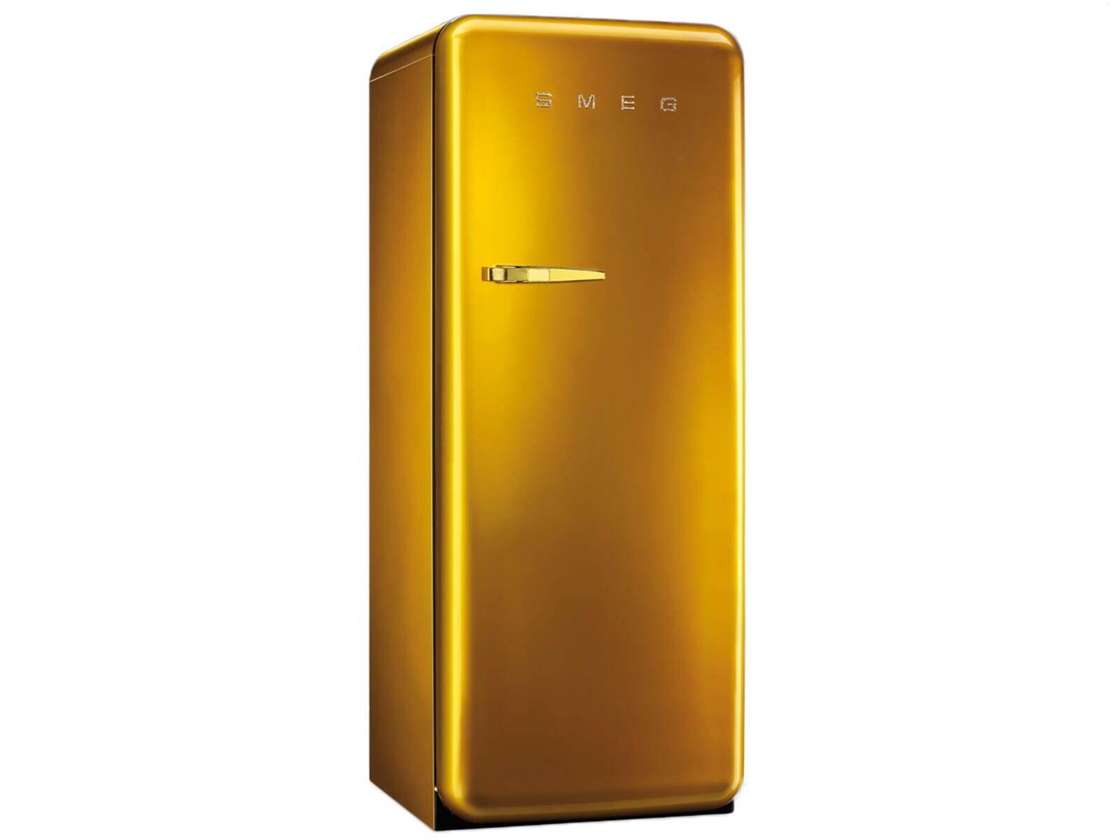 Smeg FAB28RDG Standkühlschrank Gold