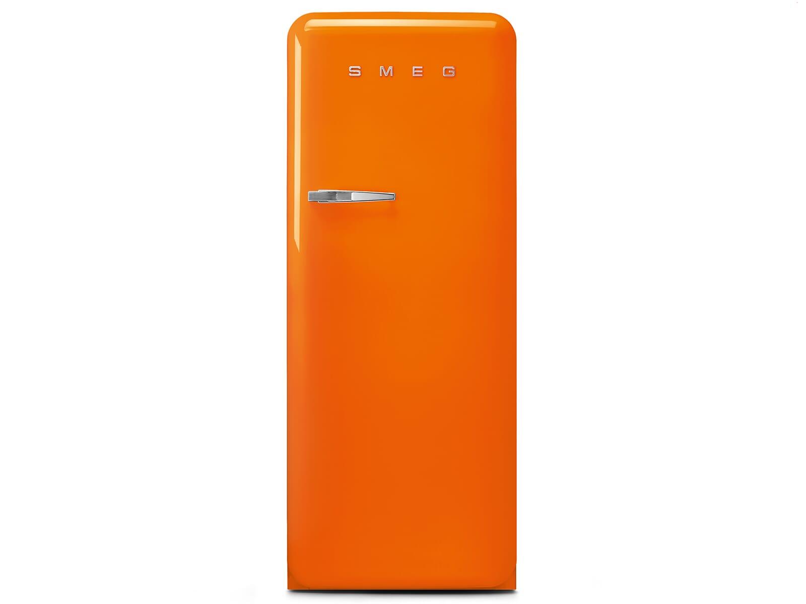 Smeg Kühlschrank Black Velvet : Smeg fab ror standkühlschrank orange
