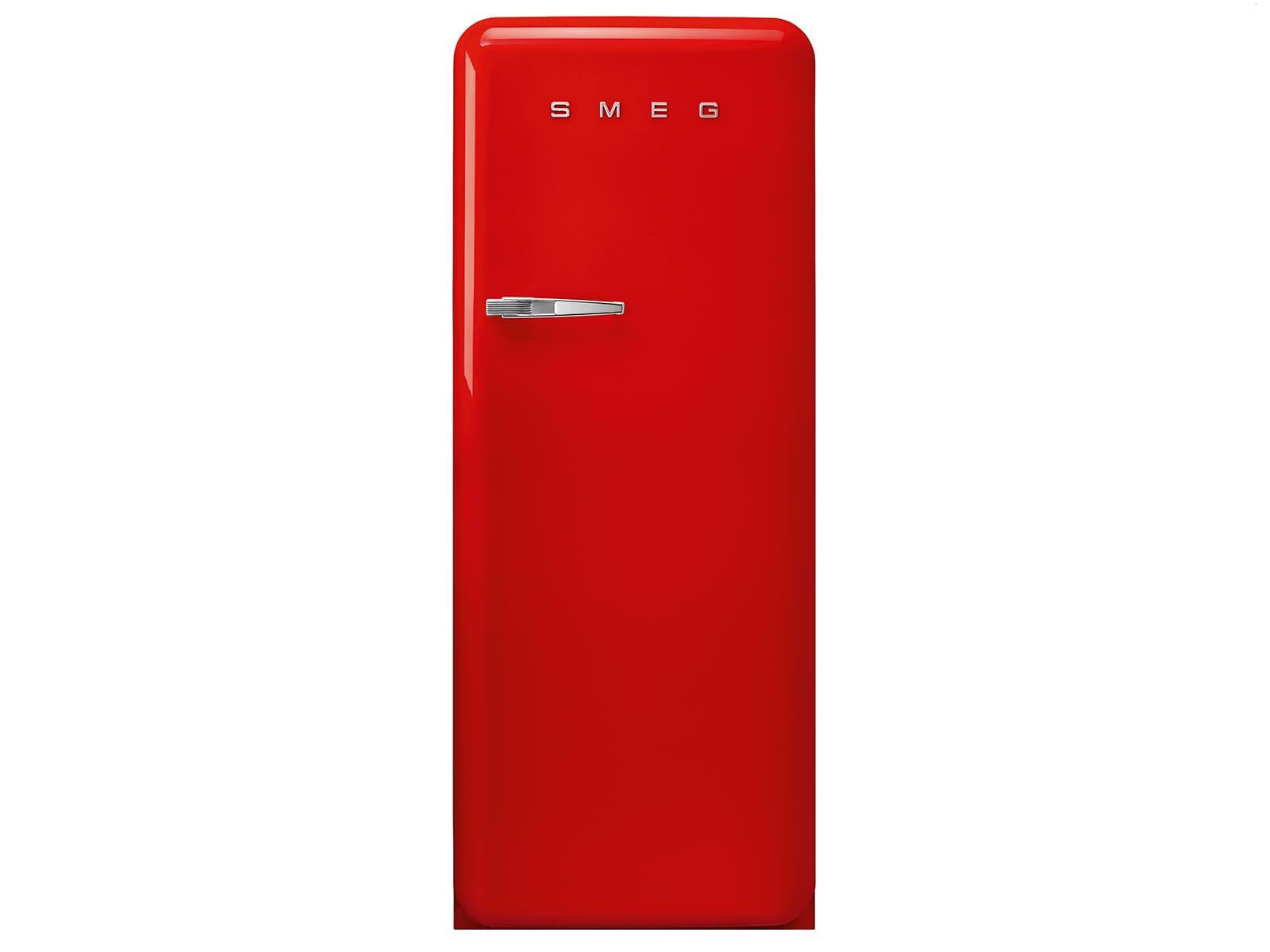 Smeg Kühlschrank Tiefe : Smeg fab28rrd3 standkühlschrank rot
