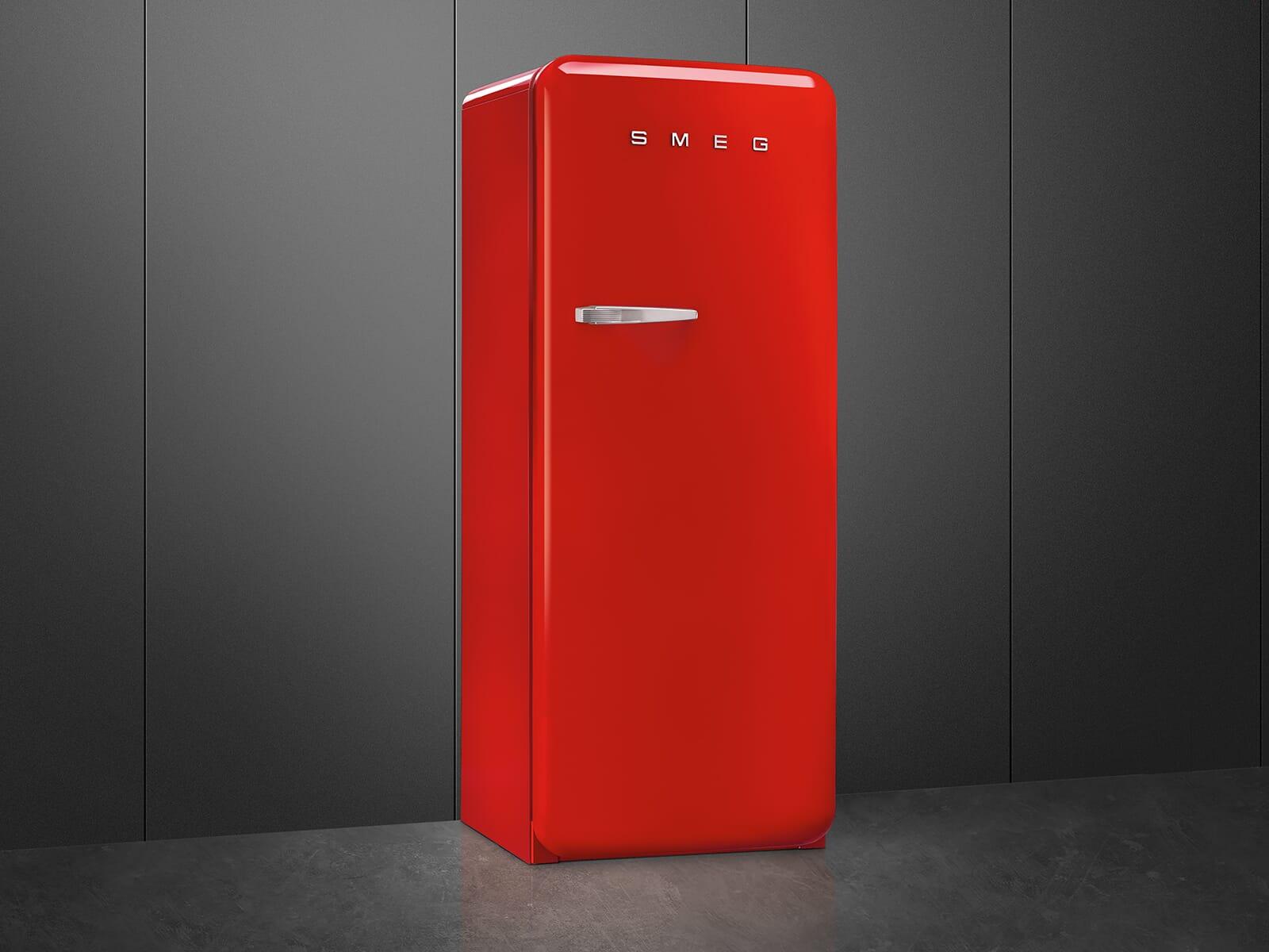 Smeg Kühlschrank Biofresh : Smeg fab rrd standkühlschrank rot