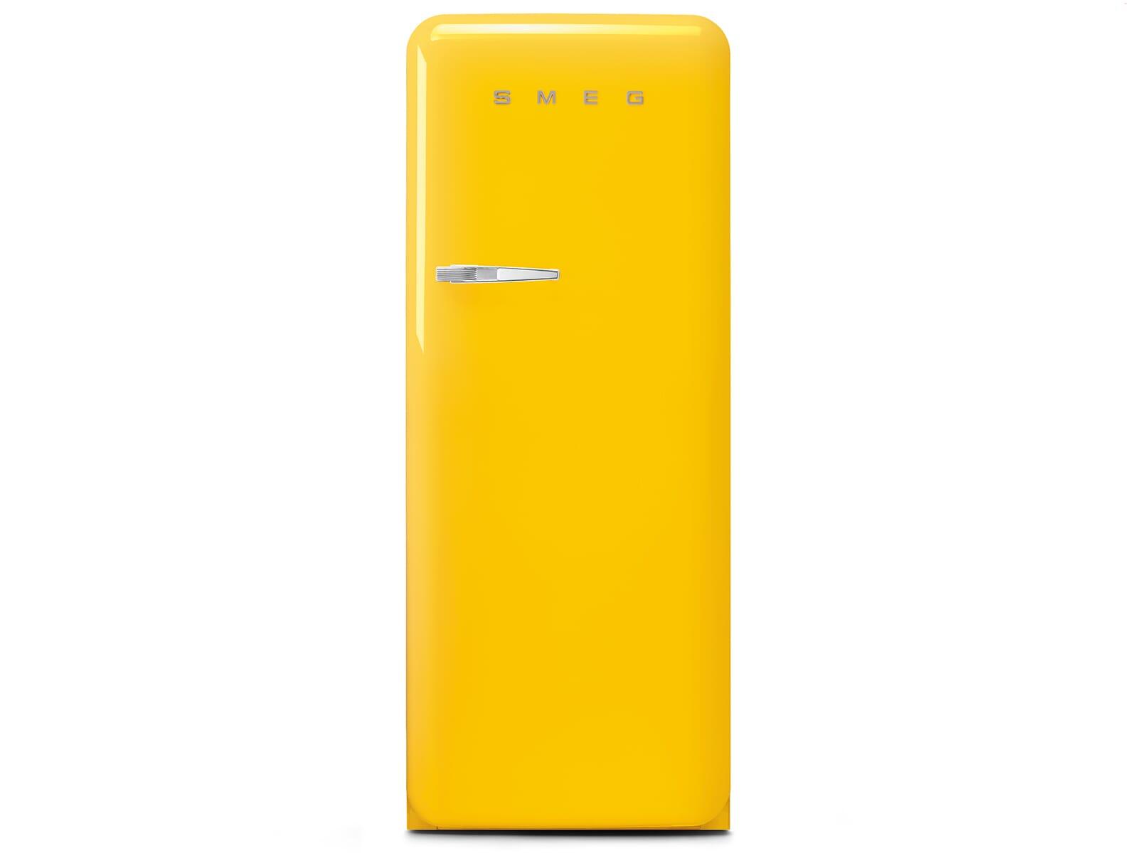 Smeg FAB28RYW3 Standkühlschrank Gelb