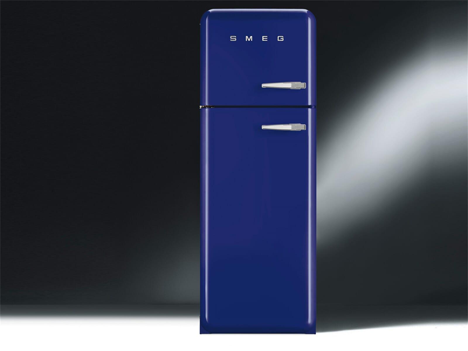 smeg fab30lbl1 k hl gefrierkombination dunkelblau. Black Bedroom Furniture Sets. Home Design Ideas