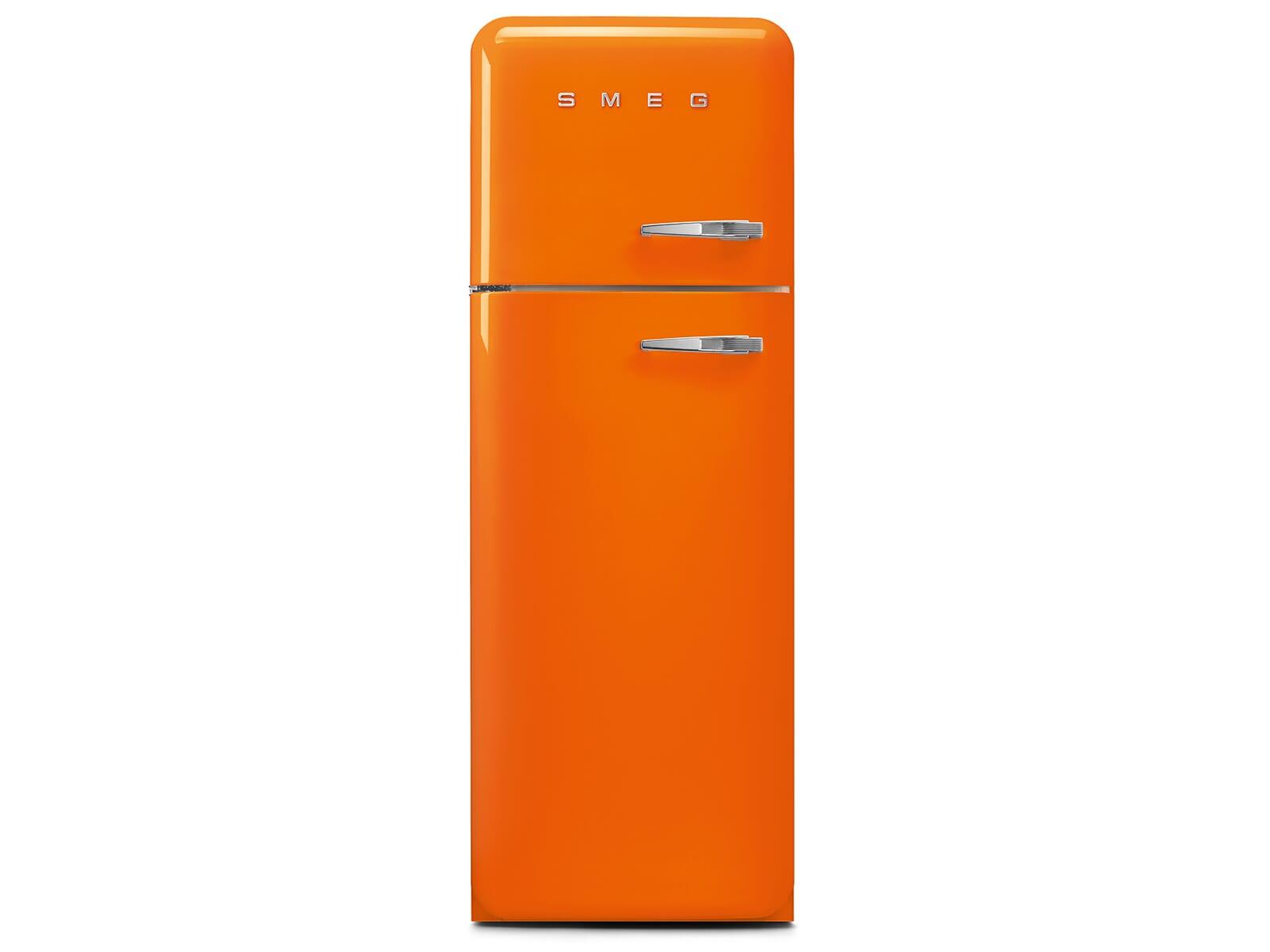 Smeg Kühlschrank 140 Cm : Smeg fab30lor3 standkühlschrank orange