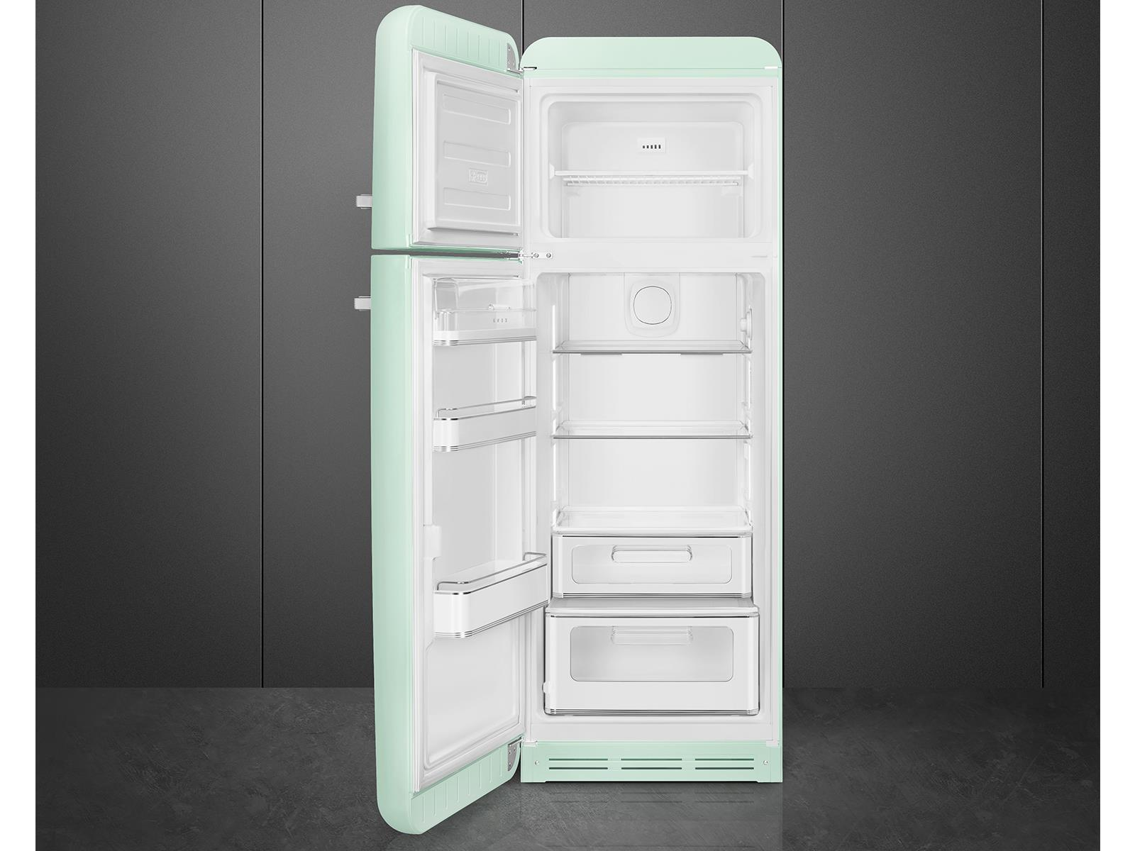 Smeg Kühlschrank 140 Cm : Smeg fab30lpg3 standkühlschrank pastellgrün