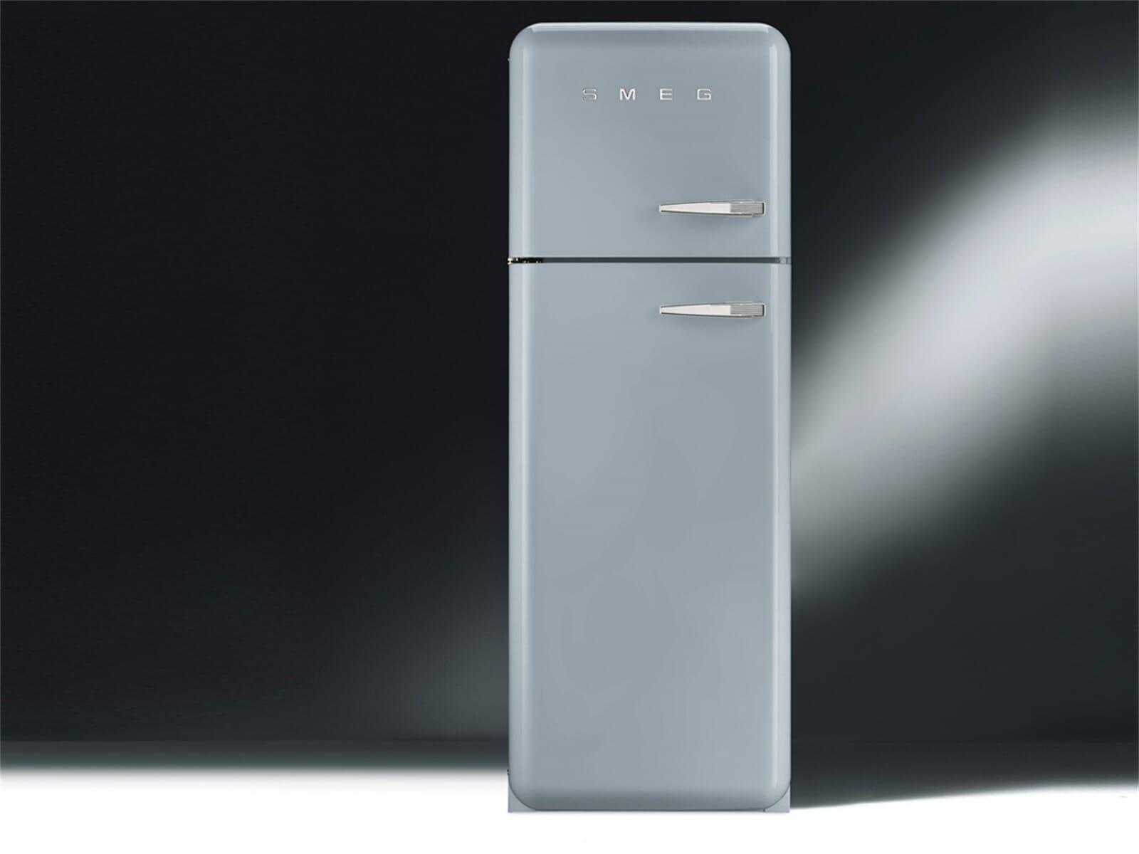 smeg fab30lx1 k hl gefrierkombination polarsilber metallic. Black Bedroom Furniture Sets. Home Design Ideas
