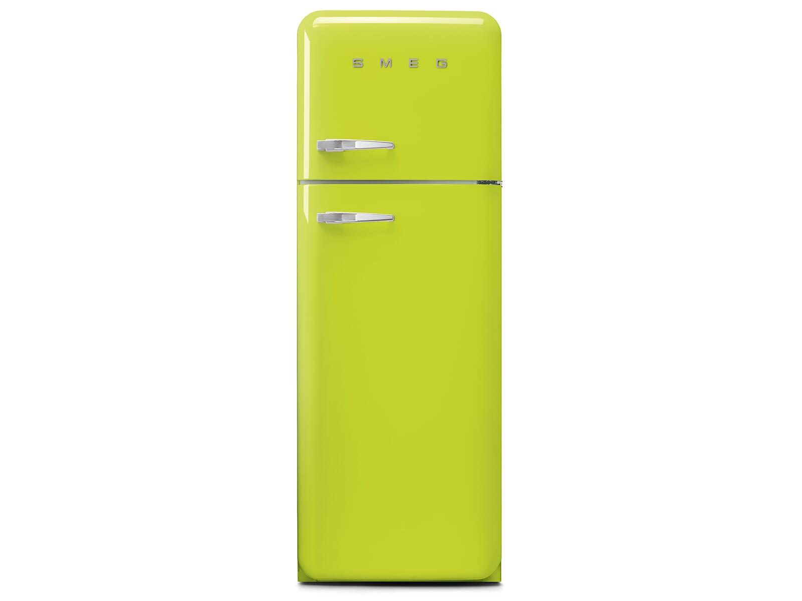 Smeg Kühlschrank 140 Cm : Smeg fab30rli3 standkühlschrank limettengrün