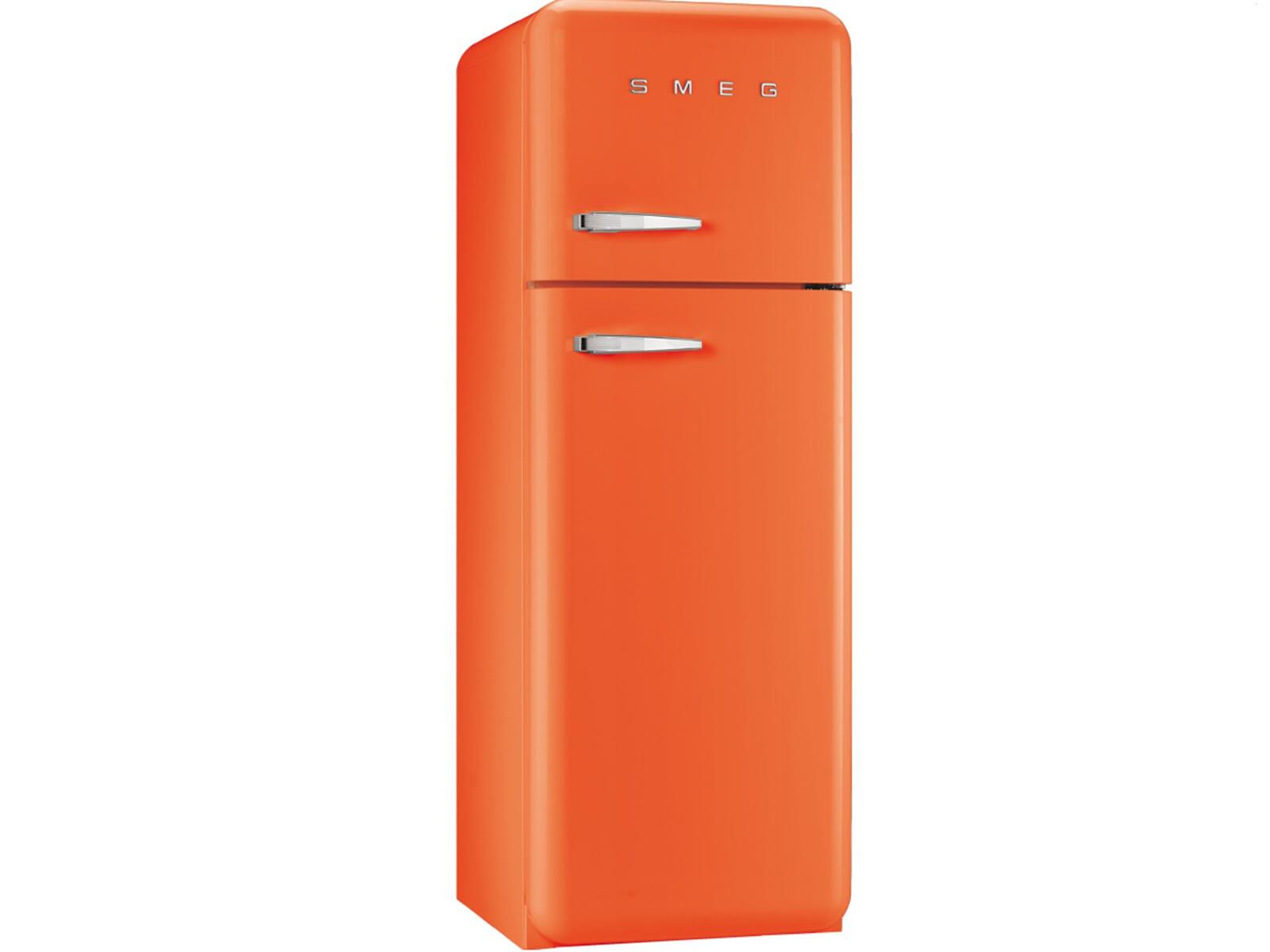 Smeg Kühlschrank 55 Cm : Smeg fab30ro1 kühl gefrierkombination orange