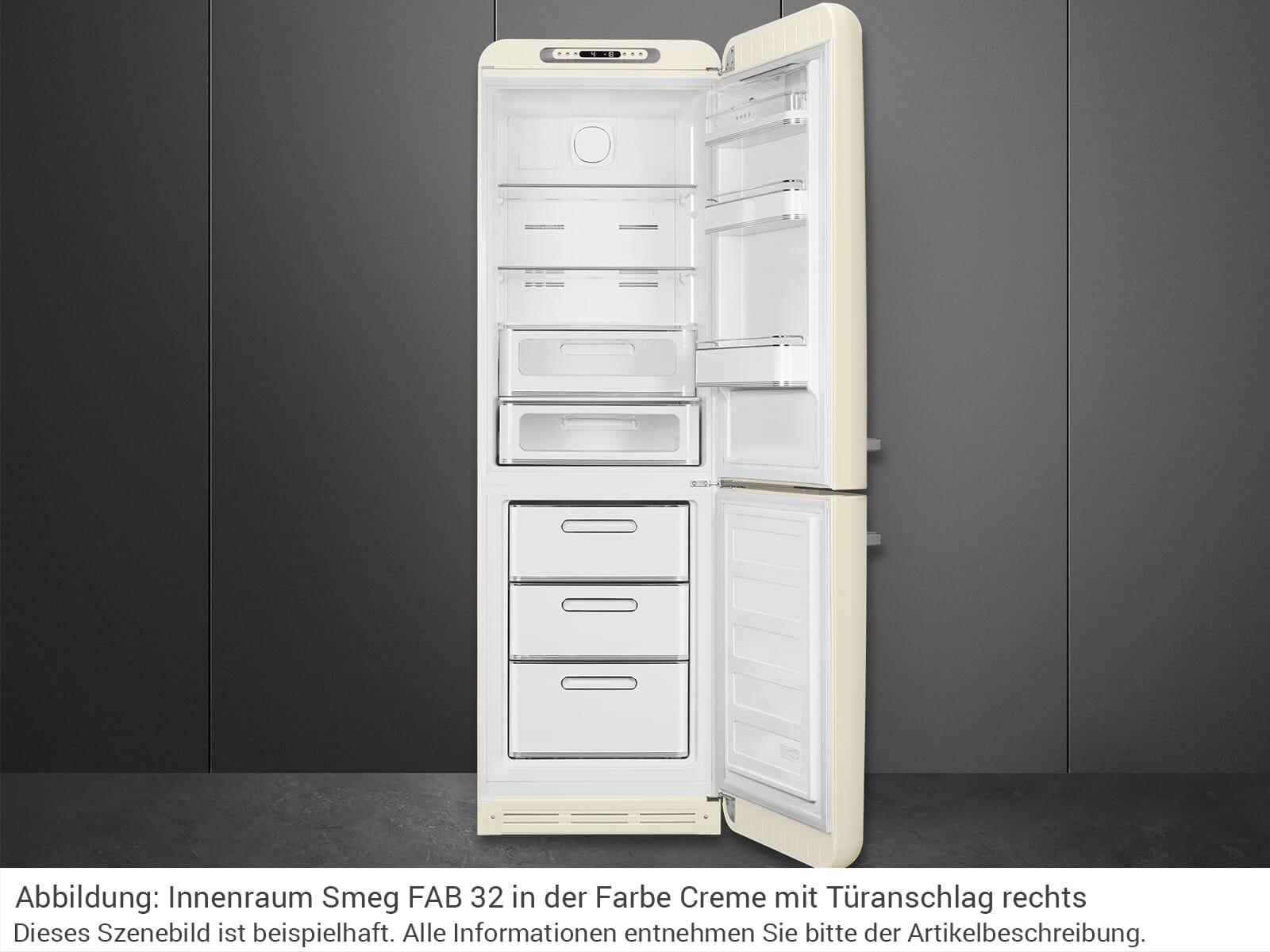 Smeg FAB32LWH5 Kühl-Gefrierkombination Weiß