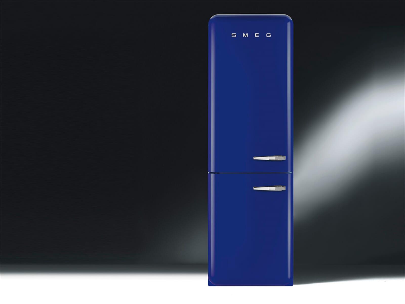 smeg fab32lbln1 k hl gefrierkombination dunkelblau. Black Bedroom Furniture Sets. Home Design Ideas