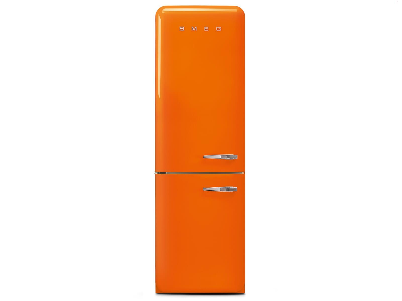 Smeg Kühlschrank Gefrierkombi : Smeg fab lor kühl gefrierkombination orange
