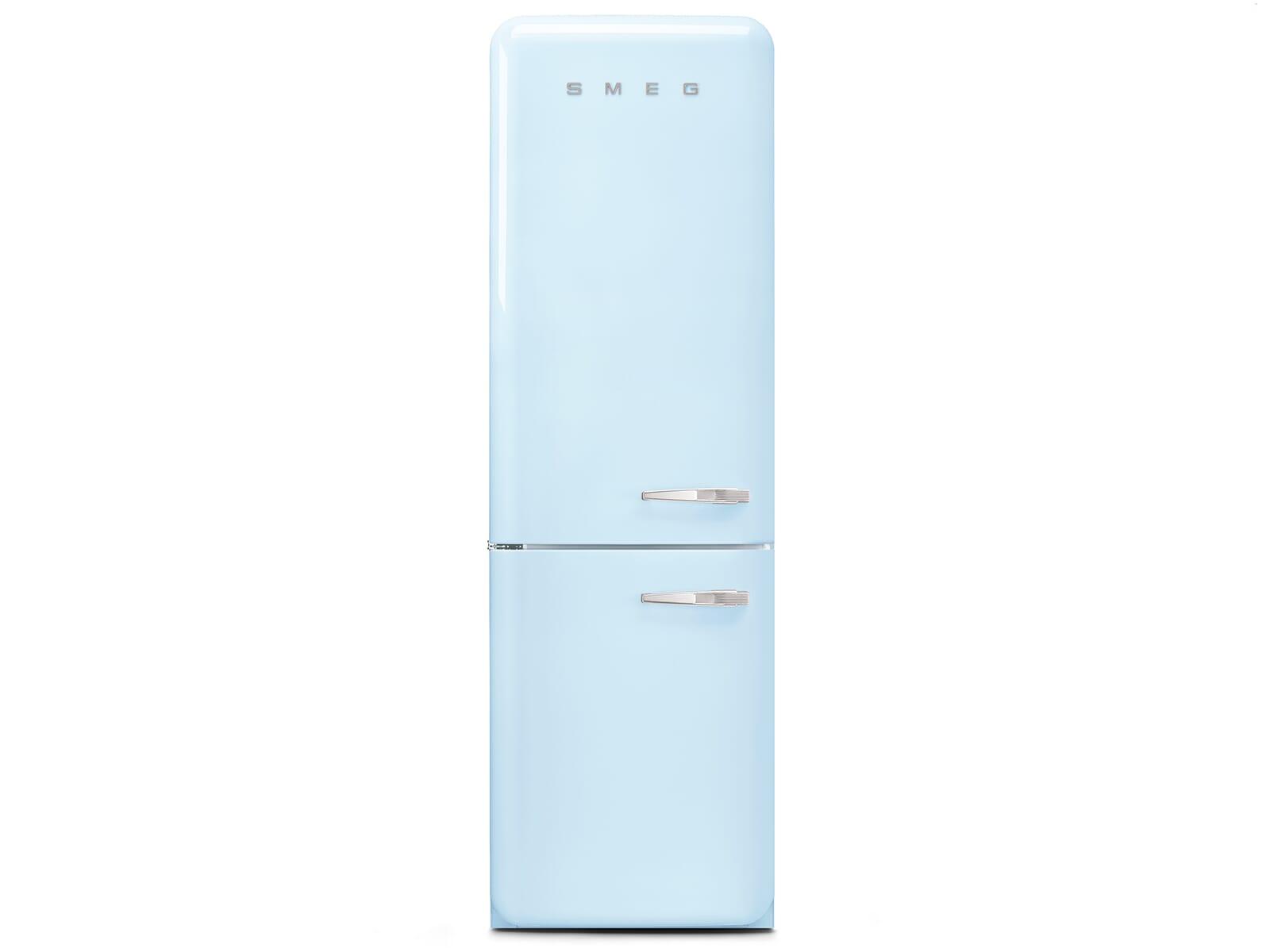 Smeg Kühlschrank Gefrierkombination : Smeg fab32lpb3 kühl gefrierkombination pastellblau
