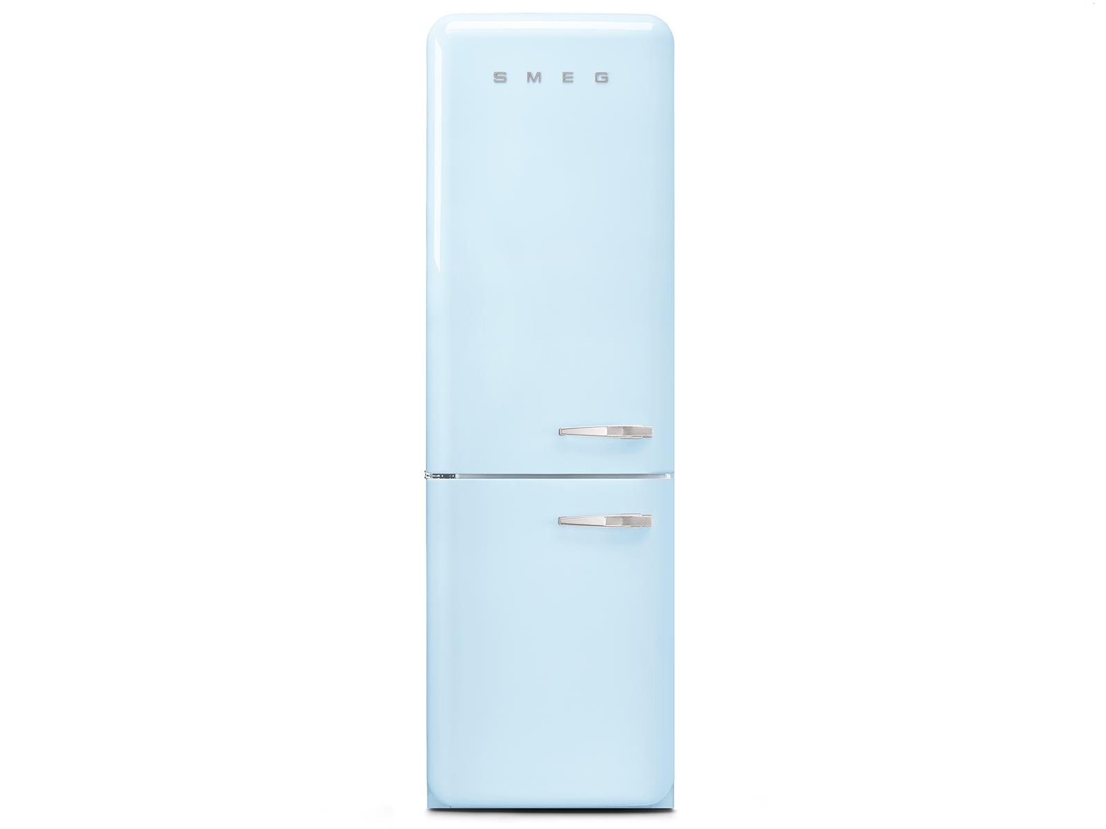 Smeg Kühlschrank Gefrierkombi : Smeg fab lpb kühl gefrierkombination pastellblau