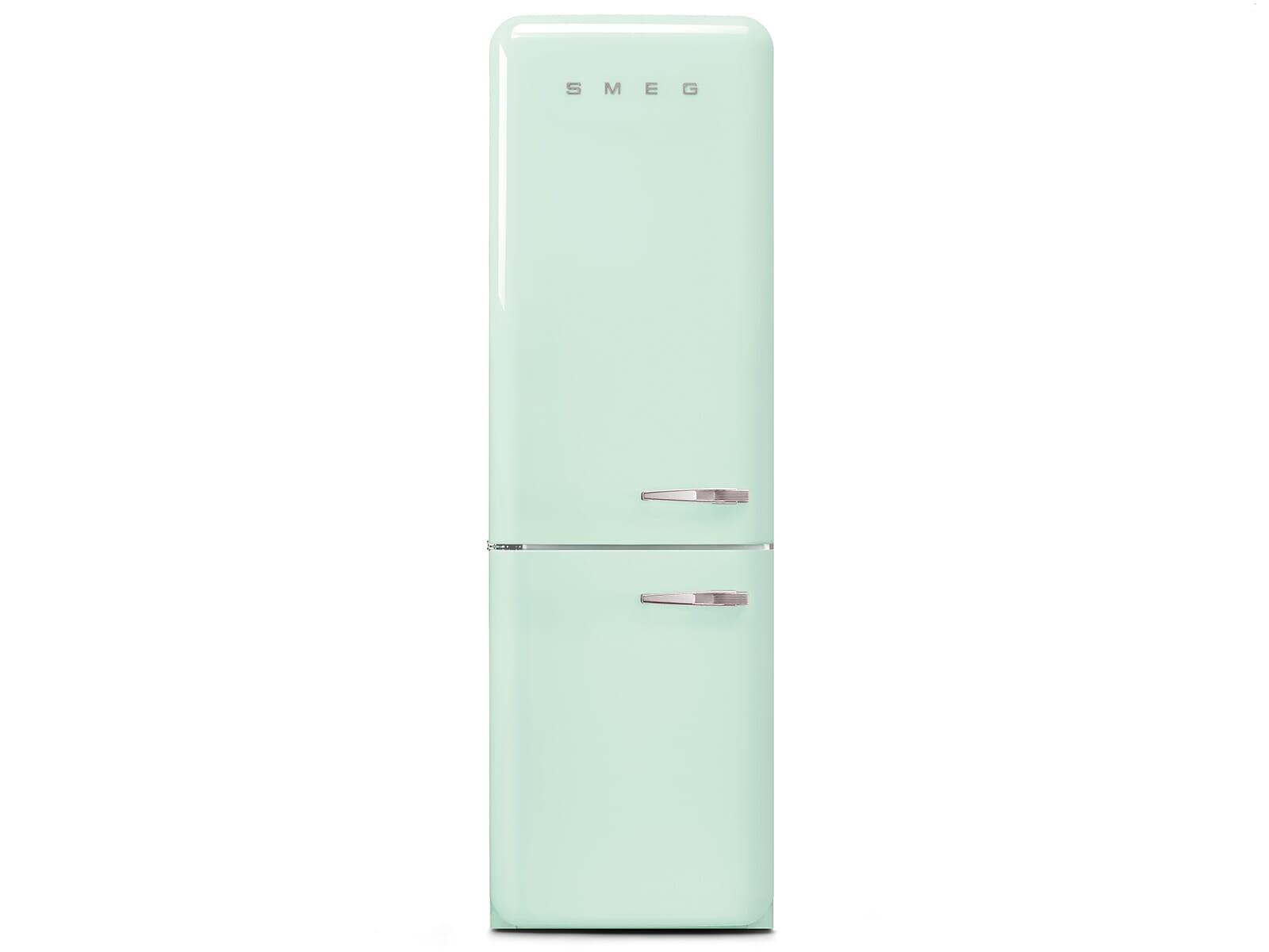 Smeg Kühlschrank 50 Cm Breit : Smeg fab lpg kühl gefrierkombination pastellgrün