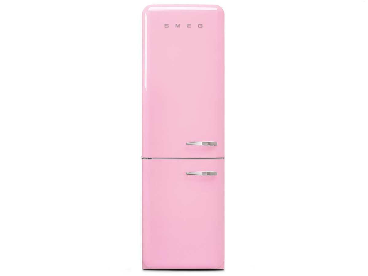 Smeg FAB32LPK5 Kühl-Gefrierkombination Cadillac Pink