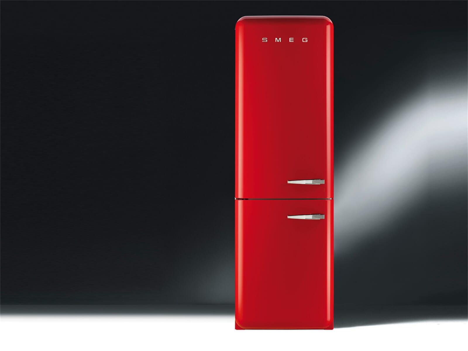 smeg fab32lr1 k hl gefrierkombination rot. Black Bedroom Furniture Sets. Home Design Ideas
