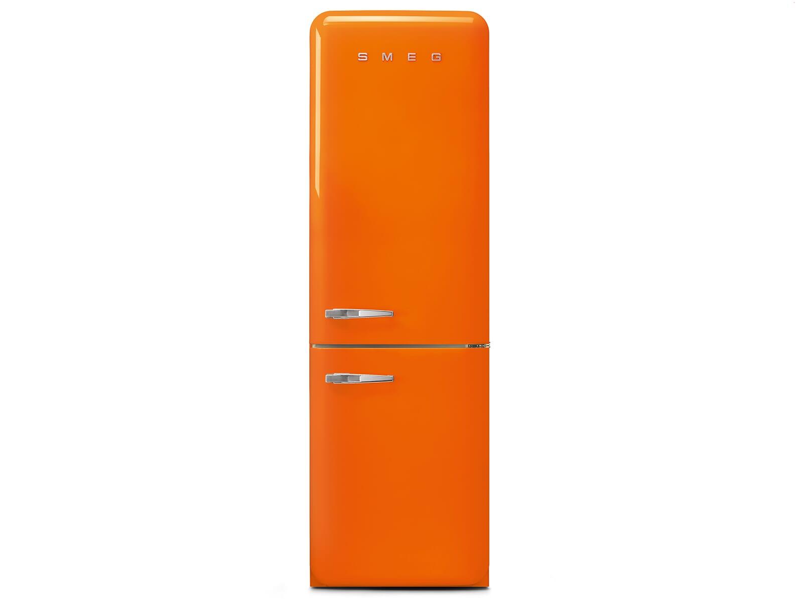 Smeg Kühlschrank Biofresh : Smeg fab ror kühl gefrierkombination orange