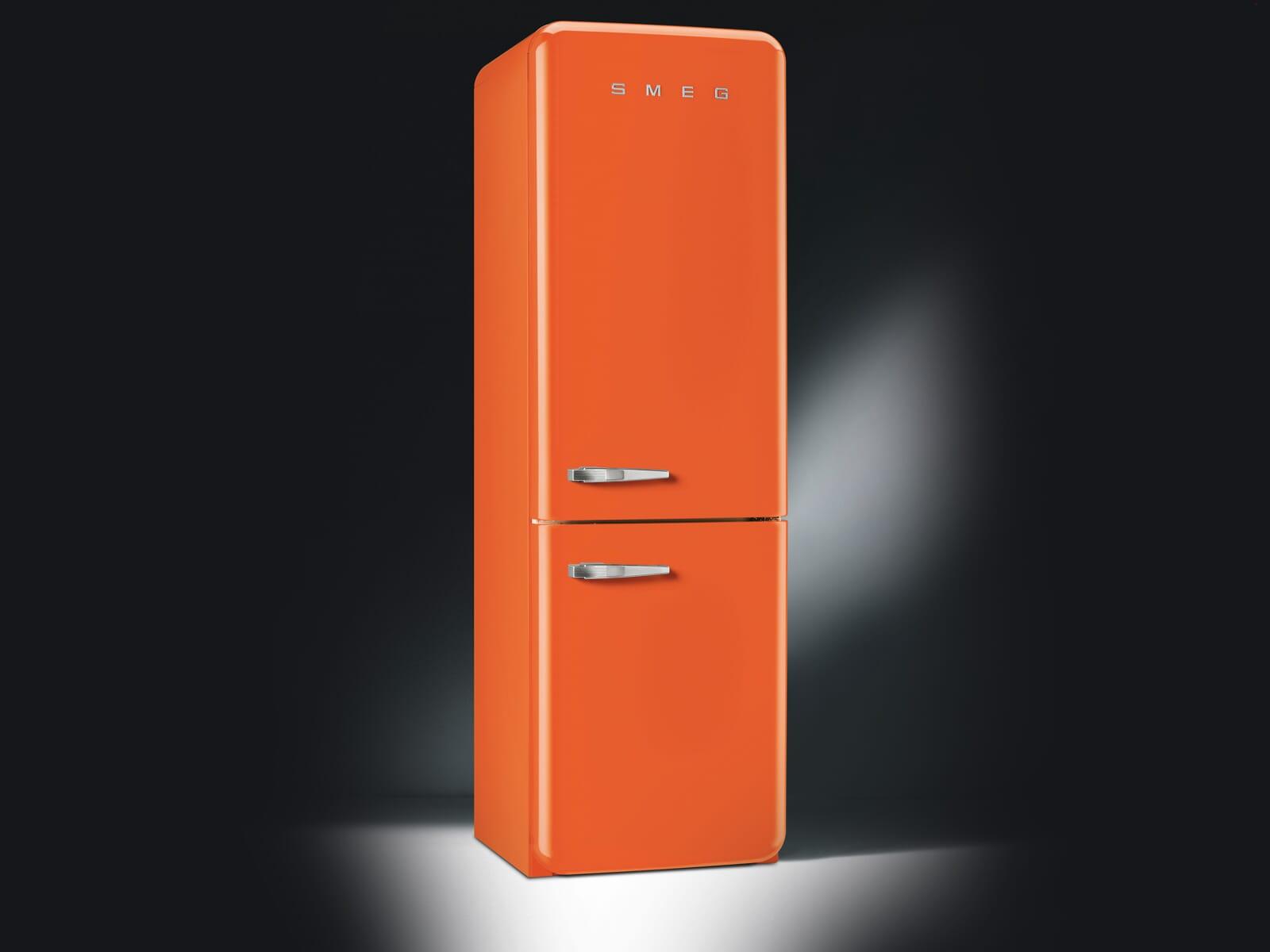 Smeg FAB32ROR3 Kühl-Gefrierkombination Orange