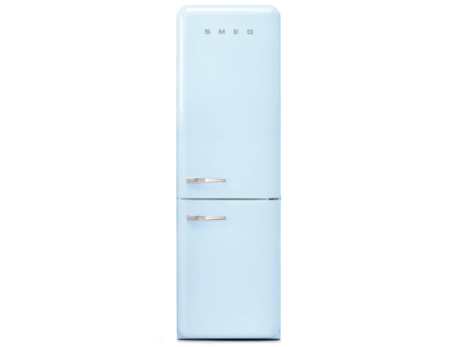 Smeg Kühlschrank Gefrierkombi : Smeg fab rpb kühl gefrierkombination pastellblau