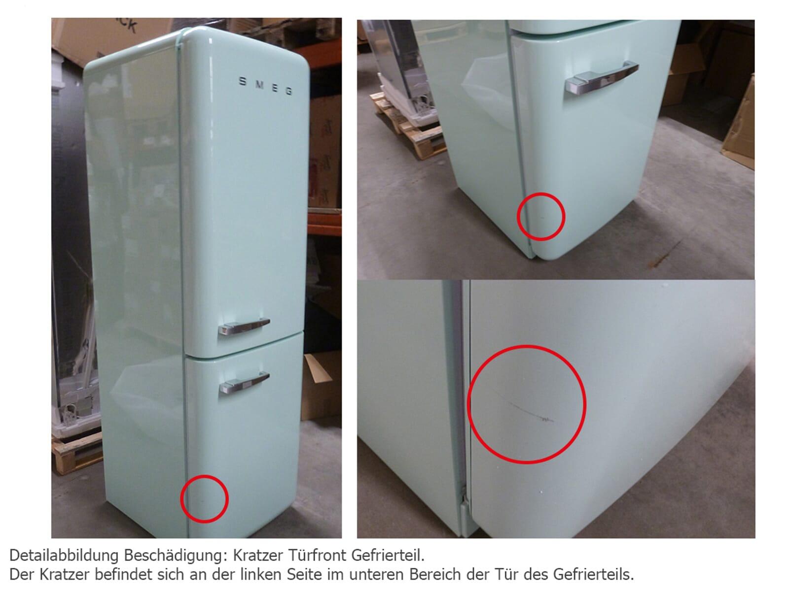 Smeg Kühlschrank Pastellgrün : Smeg fab rpg kühl gefrierkombination pastellgrün b ware