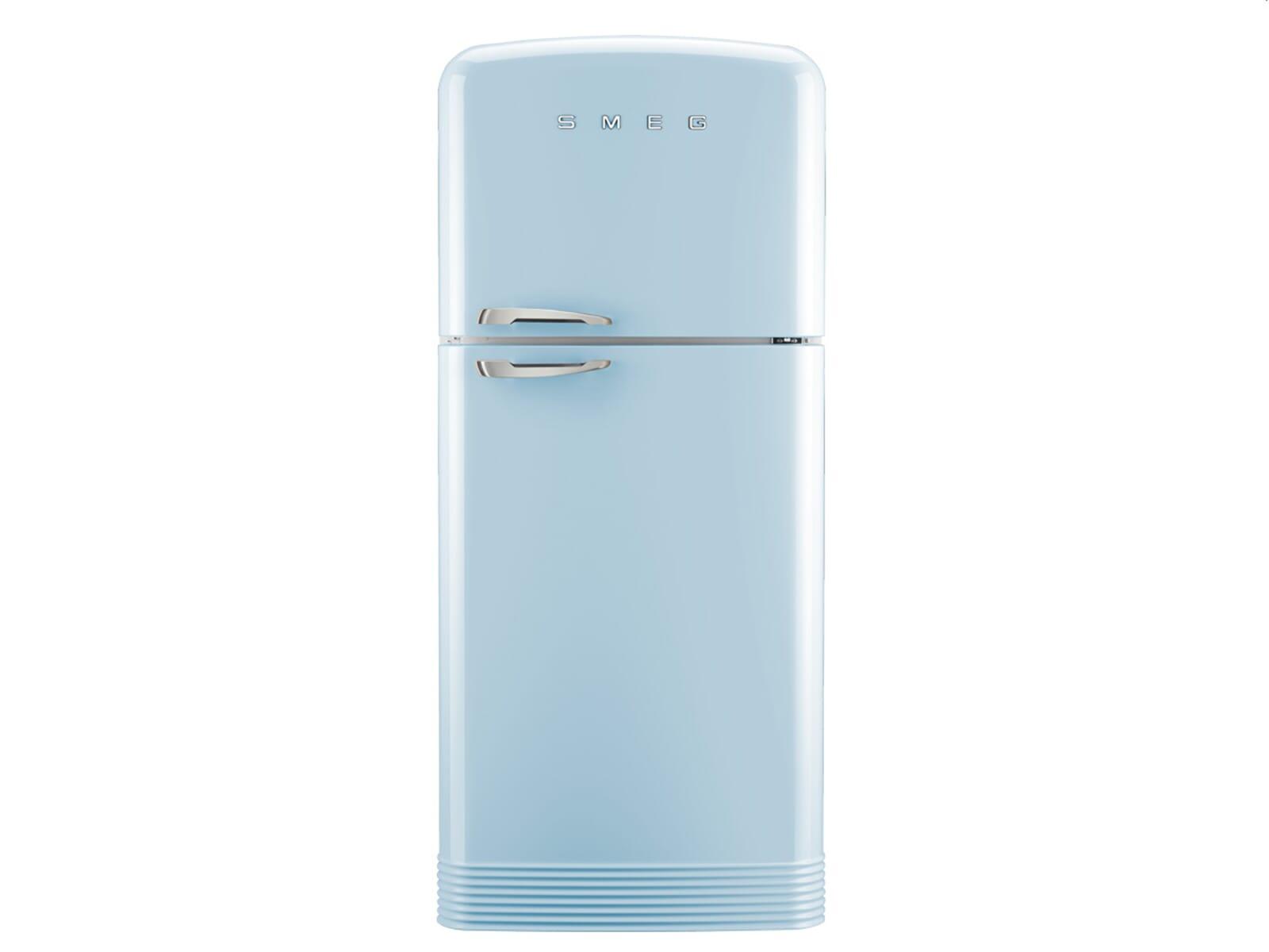Smeg Kühlschrank Gefrierkombination : Smeg fab50rpb kühl gefrierkombination pastellblau