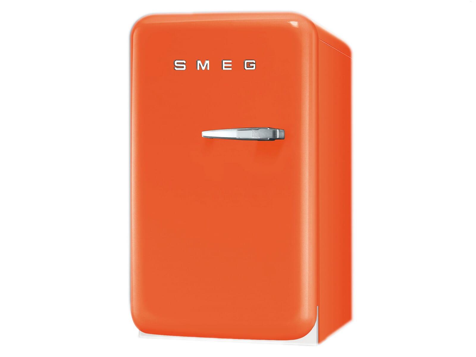 Smeg Kühlschrank Gewinnen : Smeg fab lo stand kühlschrank orange