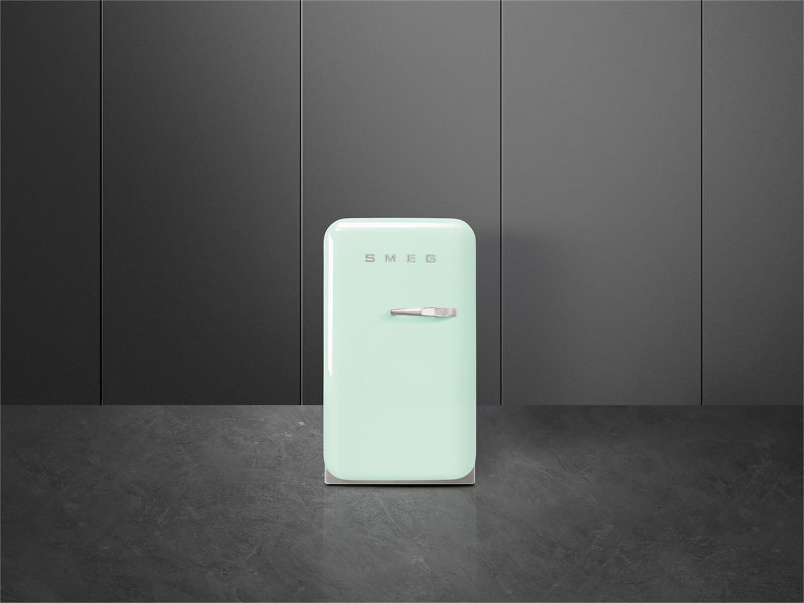 Smeg FAB5LPG Standkühlschrank Pastellgrün